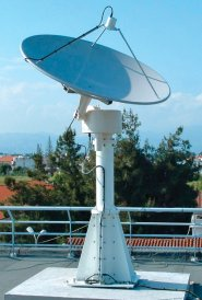 Dartcom 1.8m parabolic dish and rotator