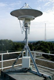 Dartcom 1.2m parabolic dish and rotator
