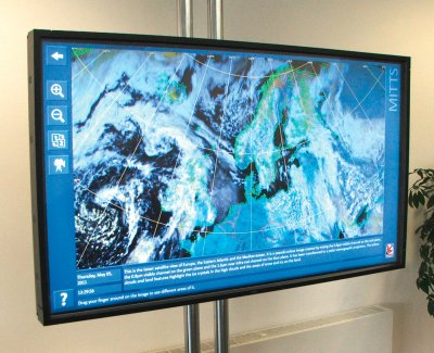 Dartcom MITTS software installed in the UK National Space Academy's Satellite Applications Catapult at Harwell, UK
