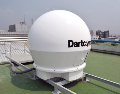 Dartcom X/L-Band EOS System at Chulabhorn Satellite Receiving Station, Kasetsart University in Bangkok, Thailand