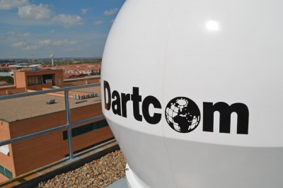 Dartcom X-Band EOS System land-based antenna